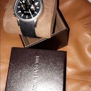 Michael Kors Black Scout Watch